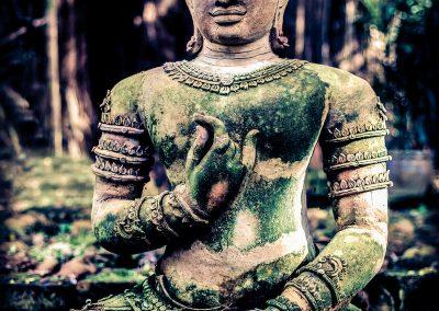 Ancient Heart Mudra Buddha