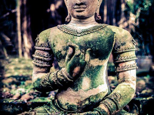 Heart Mudra Buddha