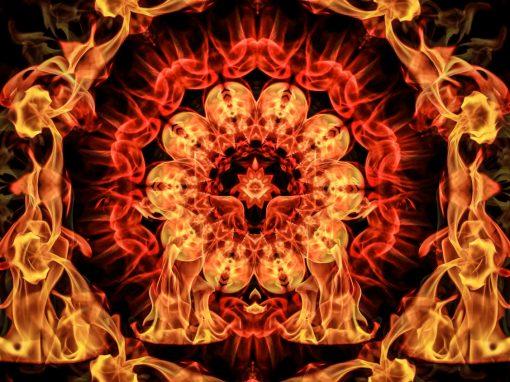 Dance of Elements: Fire mandalas