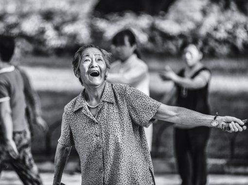 Grandmom Badminton, China